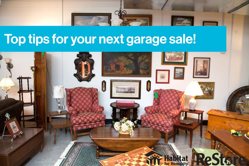 Ones man's trash: Tips for hosting a successful garage sale